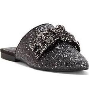 Jessica Simpson Cesely Glitter Bow Flats (8)